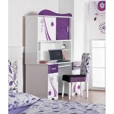 bureau de fille armoire bureau chambre fille chambre enfant complète 4 pièces