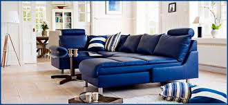 Navy Blue Leather Sofas by Best Couches Blue Leather Sofa Advice For Your Home Decoration