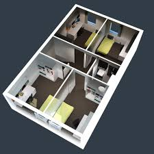 two bed room house home architecture momchuri wp content uploads bedroom ba two