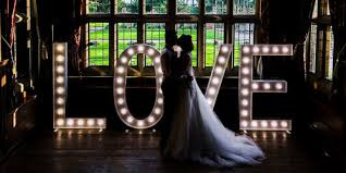 wedding backdrop hire kent light up letters