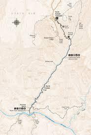 Grand Canyon Maps North Kaibab Trail Grand Canyon Association