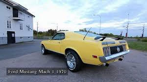 mustang mach 1 1970 ford mustang mach 1 1970