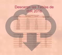 tablas y tarifas isr pagos provisionales 2016 descargar las tablas de isr 2016 calculo de impuestos personas