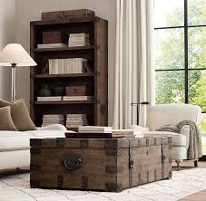 Chest Coffee Table Rh S Heirloom Silver Chest Coffee Trunk Drawing Inspiration From