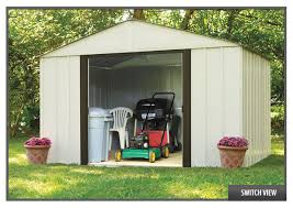 Storage Shed For Backyard by Arrow Metal Storage Sheds And Metal Utility Buildings Metal Sheds