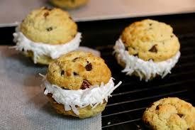 hervé cuisine cookies cookie sandwich à la crème de chamallow hervecuisine com