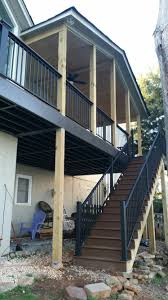 double screen porches built by the deck builder in farragut tn