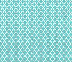 Moroccan Trellis Fabric Moroccan Quatrefoil Lattice In Lemon Yellow Fabric By Spacefem On