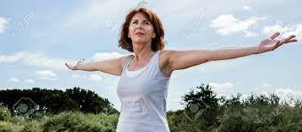 Seeking Opening Senior Zen Radiant Opening Chakra And Arms