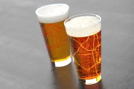 Map Los Angeles Ca by Los Angeles Ca Usc College Town Map Pint Glass Set