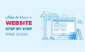 by by how to make a website in 2018 step by step with