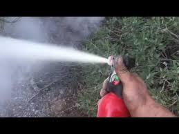 First Alert Kitchen Fire Extinguisher by First Alert Fire Extinguisher Demonstrated Youtube