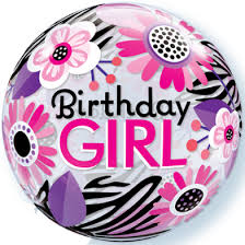 birthday girl birthday girl balloon 24 helium filled