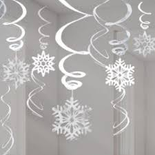 snowflake decorations for delights