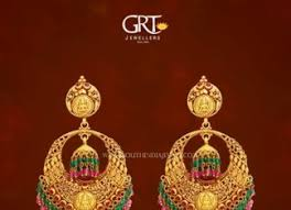 earrings in grt grt jewellers designs page 2 of 9 south india jewels