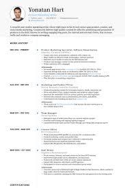 Iec Resume Template Marketing Specialist Resume Samples Visualcv Resume Samples Database