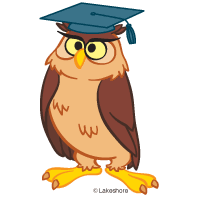 graduation owl owl clip at lakeshore learning