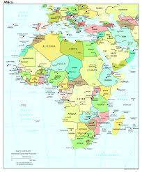 Map Of The Africa by Political Map Of The Africa Africa U2014 Planetolog Com