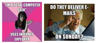 Grandma Finds The Internet Meme - learning from women s critical engagement with unfamiliar