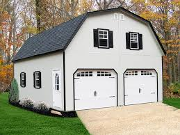 gambrel roof garages two story double wide garages storage sheds and garages