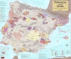 Temecula Winery Map Wine Regions Of Portugal U0026 Spain