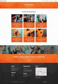 theme wall rock wall climbing sport club wp theme by ancorathemes