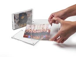 Magnetic Business Card Holder Deflecto 30 Mm Acrylic Magnetic Block For Business Card Holder