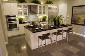 island designs for small kitchens brown oak wood kitchen cabinet