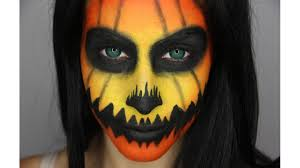 Tiger Halloween Makeup by Jack O Lantern Halloween Tutorial Feat Pinkclubwear Youtube