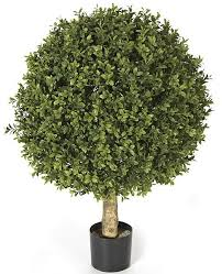 topiary trees artificial topiary trees outdoor topiary 24 inch plastic boxwood