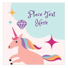 Unicorn Birthday Meme - free themed birthday printables avery com