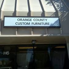 Orange County Custom Furniture CLOSED Furniture Stores - Orange county furniture