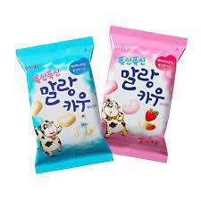 amazon com korean lotte soft malang cow fresh grade milk