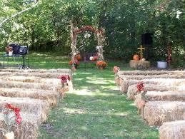 Backyard Wedding Ideas For Fall Backyard Fall Wedding Ideas Outdoor