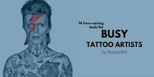 14 time saving tools for busy tattoo artists bookedin blog