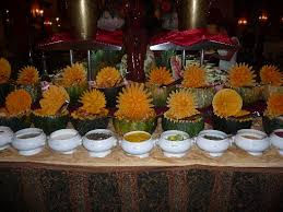 evening buffet display picture of hotel riu palace macao punta