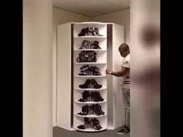 Shoe Closet With Doors Swag Rotating Shoe Rack