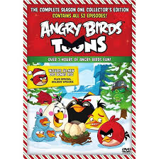 angry birds toons season vols 1 u0026 2 2 discs dvd video