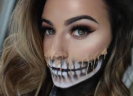 Man Woman Halloween Costume 23 Cool Skeleton Makeup Ideas Halloween Skeleton