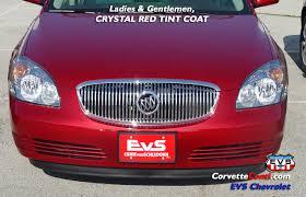crystal red on an entire car corvetteforum chevrolet