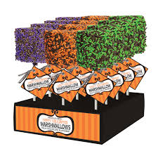 Halloween Chocolate Gifts Sale Giant Chocolate Dipped Halloween Marshmallows By Melvill
