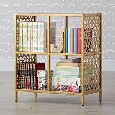 genevieve gorder metal bookcase the land of nod