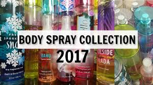 Best Bath And Body Works Shower Gel Bath And Body Works Body Mist Collection 2017 Youtube