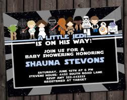 Star Wars Baby Shower Invitations - baby shower invitation etsy
