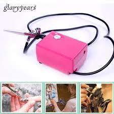 portable makeup airbrush set mini air compressor with spray gun