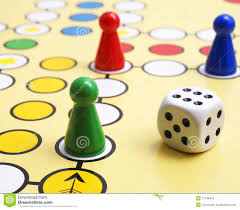 board game and dice stock images image 17196404