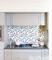 Kitchen Backsplash Wallpaper by Kitchen Kitchen Wall Tiles Lighting Island Glass Backsplash
