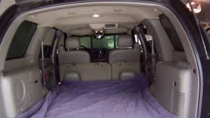 gmc yukon trunk space cargo space 2005 versa 2014 yukon or tahoe for dogs youtube
