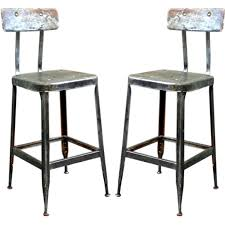 stunning industrial bar stool with back pair of adjustable