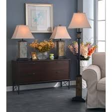 design craft logan natural slate 29 inch table lamp free
